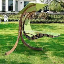Lawn Swing Garden Wooden Patio Single Seat Swing Buy Single Seat Swing