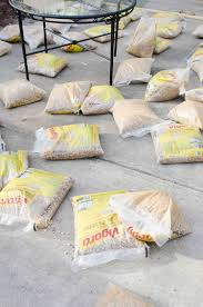 How To Make A Pea Gravel Patio How To Create A Chic Gravel Patio The Home Depot Blog