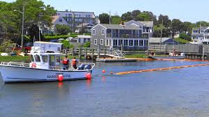video oil spill management drill held in harwich
