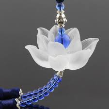 lotus flowers glass healing glass car hanging car ornaments car