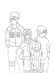 ninja naruto coloring pages cartoon coloring pages of printable of