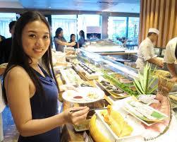 Brunch Setup The Hungry Kat U2014 Luxurious Japanese Buffet At The Nobu Sunday