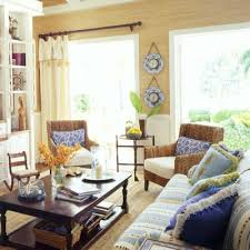 Key West Living Room With Blended Furnishings Key West | key west homes key west style key west and coastal