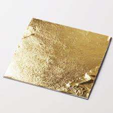 where to buy edible gold leaf 11cm artisan edible gold deluxe leaf sheet chef food