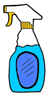 cartoon pictures of cleaning cleaning supplies clipart 163070