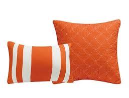 Comforter Set With Sheets Piece Bernard Orange Reversible Comforter Set With Sheets