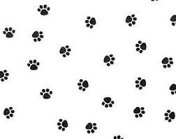 paw print tissue paper animal tissue paper etsy