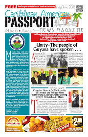 caribbean american passport news magazine may 2015 by
