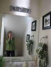 How To Frame A Bathroom Mirror With Crown Molding From Bathroom To Mantel Tommy U0026 Ellie