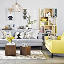 yellow livingroom dove grey living room with yellow cushions living room
