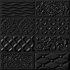 carrelage cuisine noir brillant étourdissant carrelage noir brillant et carrelage daco riv comptoir