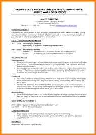 resume format student 8 cv examples student part time job nanny resumed cv examples student part time job jobs resume examples best for your job search png