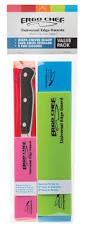 edge guard set in bold colors by ergo chef