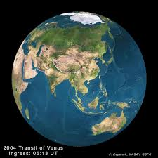 Ingress World Map by Nasa Predictions For The 2004 Transit Of Venus