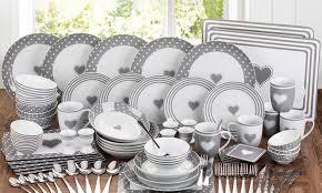 15 80 grey combo dinner set groupon