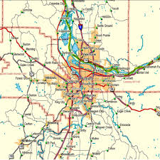 Maps Portland Oregon by Portland Metropolitan Area