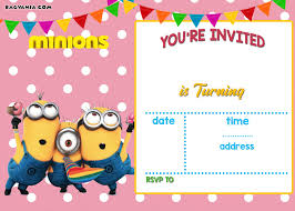 your invited halloween background free printable minion birthday party invitations ideas template