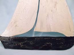 wood sailboat wall driftwood sail boats sweet photoshots white