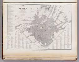 Lima Map Ciudad De Lima David Rumsey Historical Map Collection