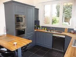 meuble cuisine gris clair meubles cuisine gris 2017 et cuisine equipae chaane gris clair photo