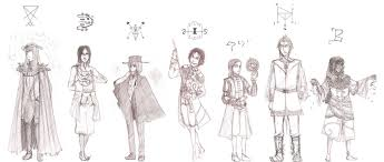 7 princes of hell sketches by luckyblackcatxiii on deviantart