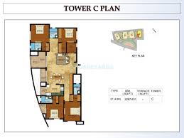 1600 sq ft floor plans 3 bhk 1600 sq ft apartment for sale in kolte patil mirabilis at