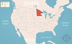 Minnesota State Map Minnesota Mn State Information