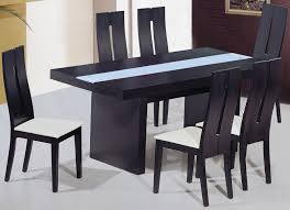 Square Wood Dining Tables Black Wood Dining Table House Plans And More House Design