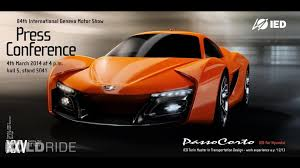 hyundai supercar concept hyundai passocorto concept