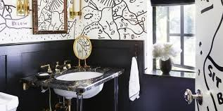 black tile bathroom ideas 30 black and white bathroom decor design ideas
