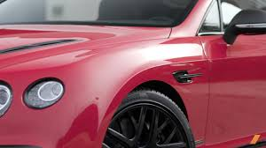 bentley pink car 2017 bentley continental supersports video