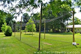 Batting Cage For Backyard by How To Build A Batting Cage