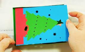 christmas tree shadow box card jennifer maker
