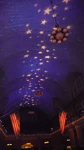 Stars On Ceiling by Ellis Island Medal Of Honor