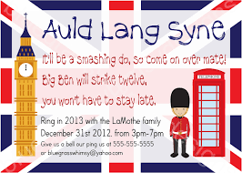 invitations for new years eve party kid friendly new year u0027s eve party auld lang syne british