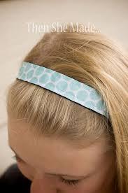 no slip headbands then she made no slip headbands crafts craft