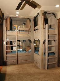 Bunk Beds Built Into Wall Built In Bunk Beds Built In Wall To Wall Bunk Beds Diy Bunk Beds