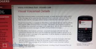 visual voicemail for android rogers rolling out visual voicemail plus for select android and