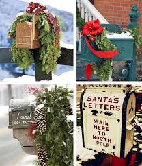 Natural Christmas Decorations For Outside by 24 Best Christmas Mailboxes Images On Pinterest Christmas Ideas