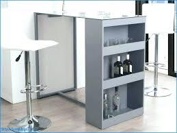 fabriquer une table haute de cuisine table de bar cuisine simple table de cuisine haute avec rangement