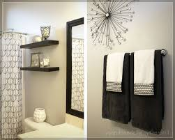 Towel Ideas For Small Bathrooms Ideas For Decorating Bathroom Walls At Best Home Design 2018 Tips