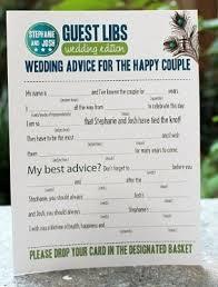 Wedding Mad Lib Template Wedding Mad Libs Who U0027s Doing It Weddings Do It Yourself Fun