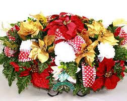 Cemetery Christmas Decorations Headstone Saddle Etsy