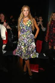 Vanity Row Clothing Paris Hilton Photos Photos Vivienne Tam Fw2017 Runway Show