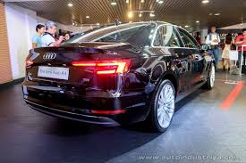 audi philippines 2016 audi a4 makes local debut auto industry
