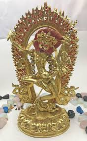 gold lion statues lion dakini statue 20 potalagate