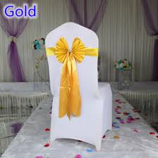 Gold Chair Sashes Gold Chair Ties Australia New Featured Gold Chair Ties At Best