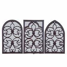 esschertdesign cast iron window frame with mirror reviews wayfair