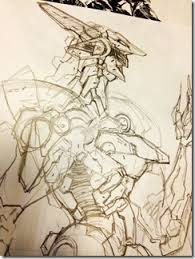 is this a new look for zone of ender u0027s mecha jehuty siliconera