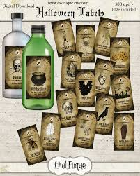 vintage printable apothecary labels vintage apothecary